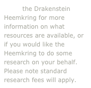 Email the Drakenstein Heemkring for more information on what resources are available, or if you would like the Heemkring to do some research on your behalf. Please note standard research fees will apply.